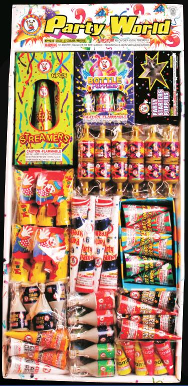 Party Popper Fireworks Assortments