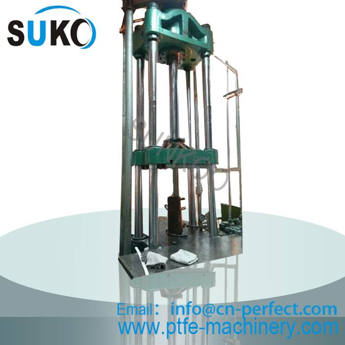 Teflon PTFE  Rod ram extruder machine