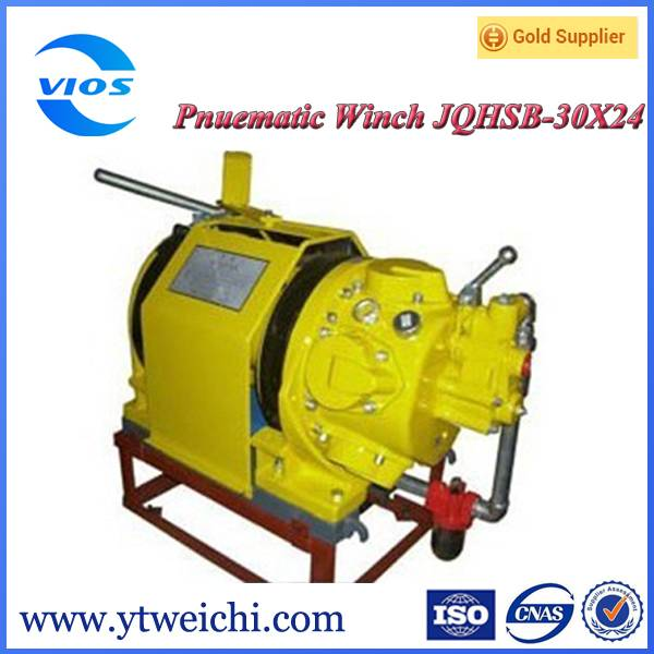 Pneumatic air motor winch windlass winch
