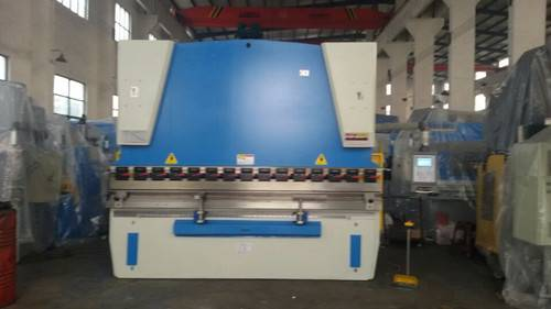 cnc press brake/hydraulic plate bending machine WC67K-100T/3200