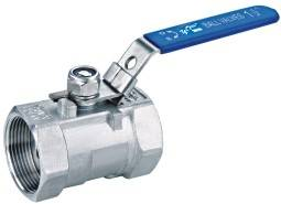 One piece ball valve ( 1 pc ball valve)