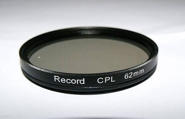 62mm circular polarizing filter camera CPL filter