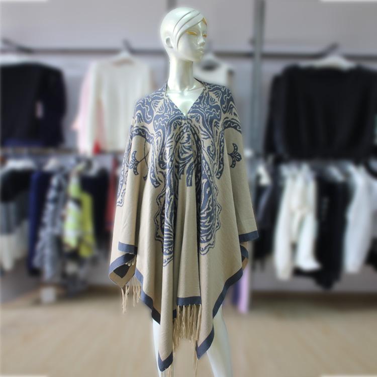 autumn Winter Acrylic Womens Ladies Tassels Design Faddish Shawl