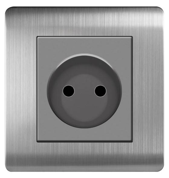 ARTDNA stainless steel 16A 2 Pin European socket