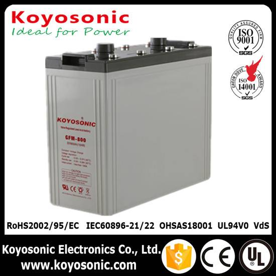 Top Quality 2V 800Ah Solar Storage Battery Lead acid Battery