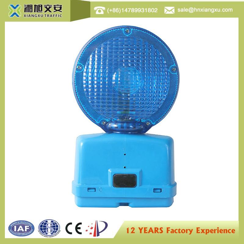 Solar Powerd Single Flashing Solar Traffic Warning Lights