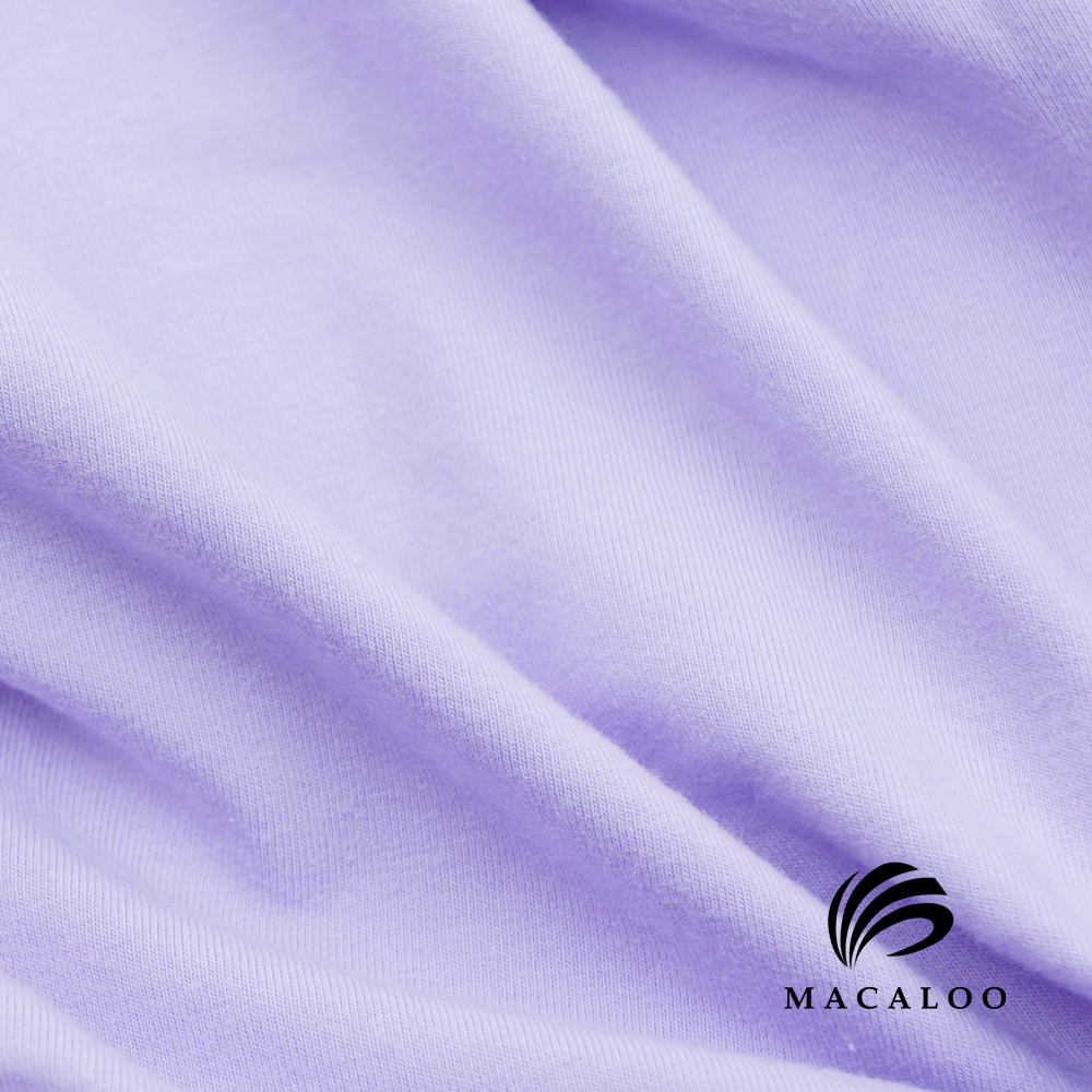 Stocklot heavy solid 95/5 cotton spandex 230gsm jersey fabric