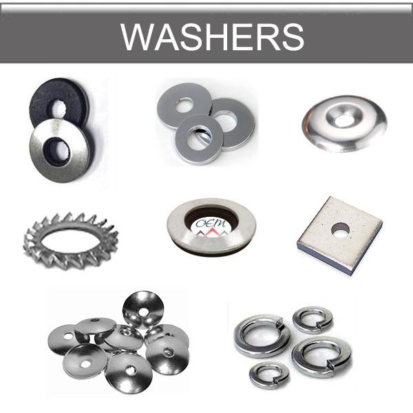 Metal washers,PVC washers
