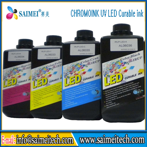 High quality KYOCERA LED Curable UV Ink Made in TaiWan for KYOCERA UV Printhead