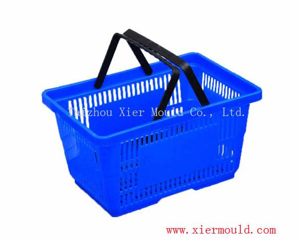 Supermarket basket mould