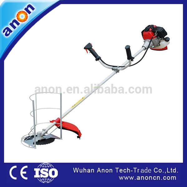 ANON 4 stroke Mini rice cutter wheat harvester