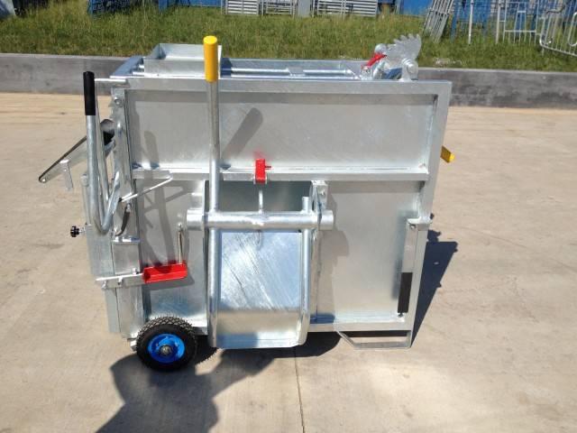 Hotdippedgalvanisedmobilecalfboxforcalf