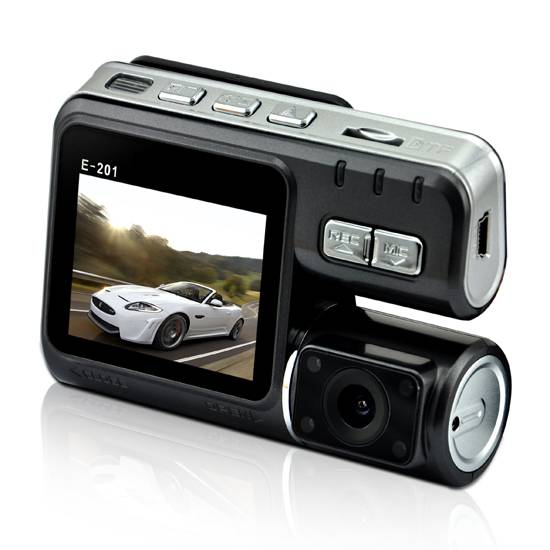 Car DVR with Allwinner solution, 2 million pixels and dual cameras
