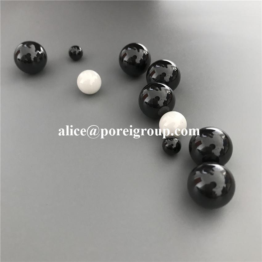 Precision Silicon Nitride ceramic Si3N4 bearing balls