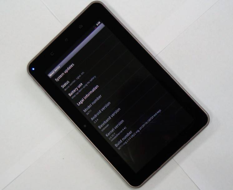 7 inch dual core 1G tablet pc