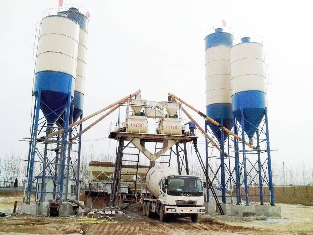 concrete mixing plant(25-50m³/h)