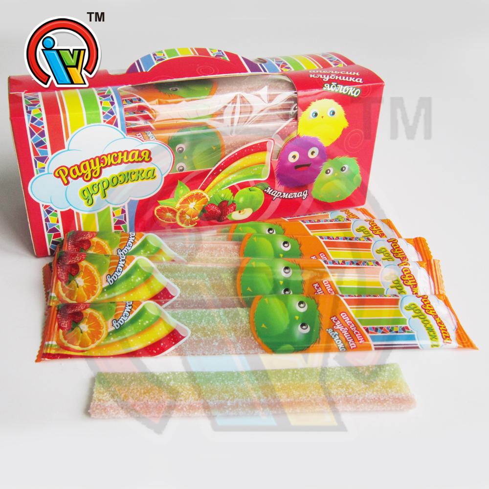 Good Quality Fruits Rainbow Gummy Soft Candy