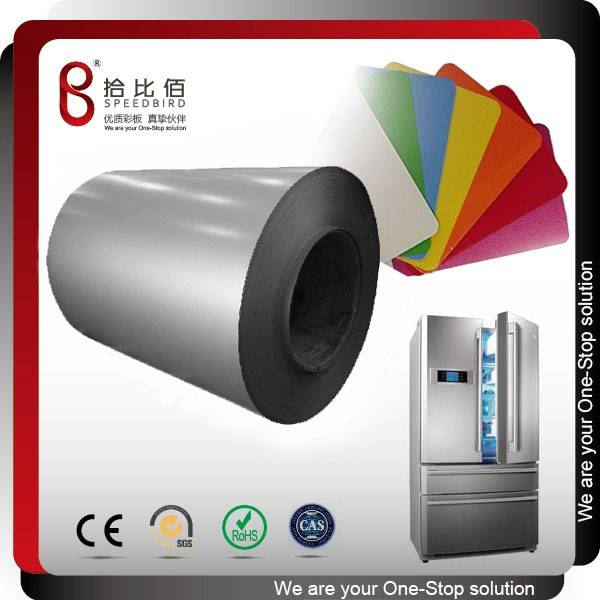high gloss pvc film laminated steel sheet for refrigerator doors panel
