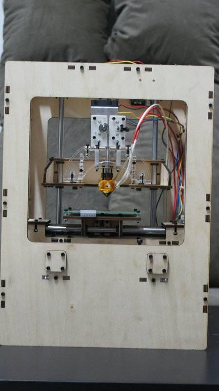 reprap 3D printer makerbot thing-o-matic