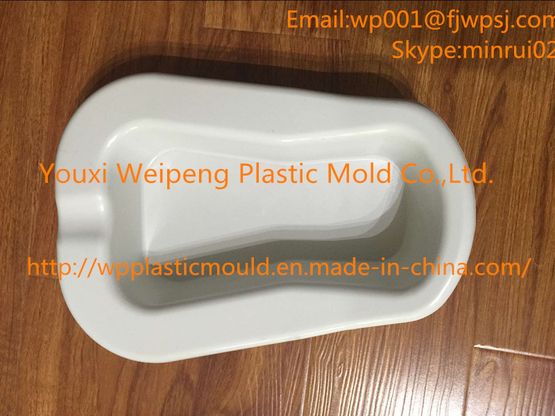 Plastic Injection Mold Medical Bedpan (BP-01)