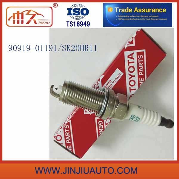 Toyota Iridium Spark Plugs 90919-01191 Sk20hr11 Make in Japan