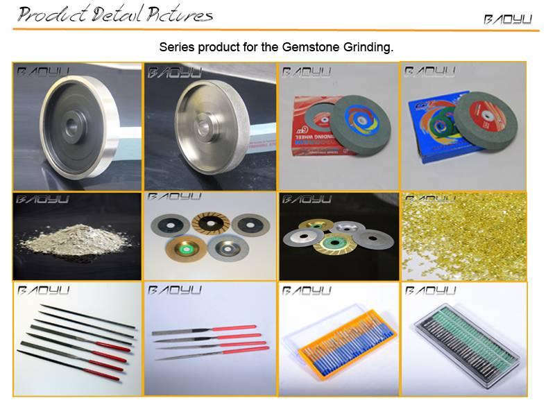 Green Stone Gemstone Grinding and Polishing Diamond Tools