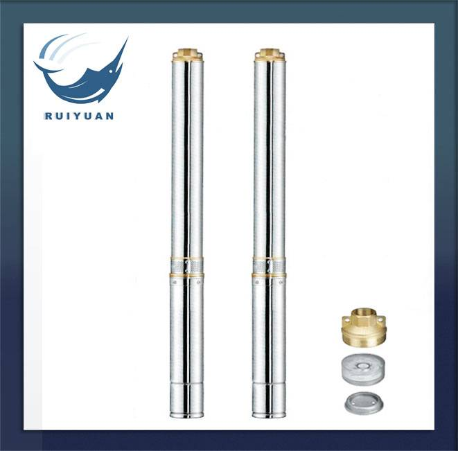 4 Inches Standard Brass Outlet Deep Well Pump Submersible Pump Water Pump for Garden Use (4SD8-06/0.