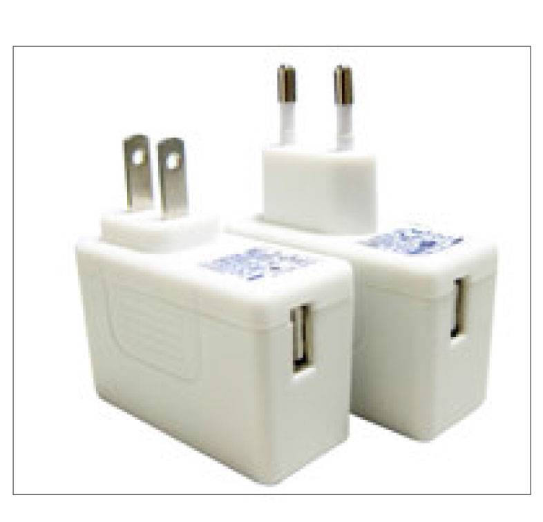 AGA012z-USB  12W Fixed plug USB Charger