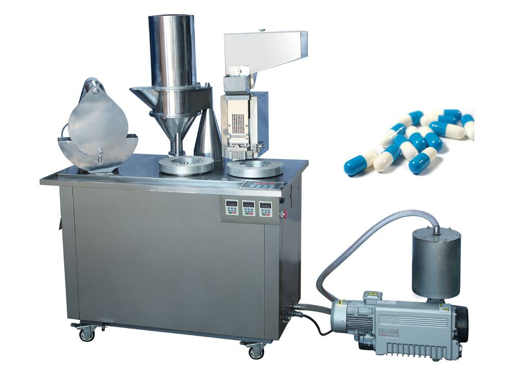 Semi-capsule filling machine