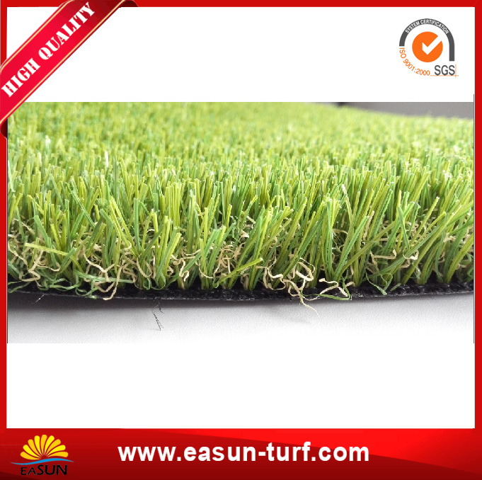 natural looking green fake turf outdoor plastic artificial grass carpet-AL
