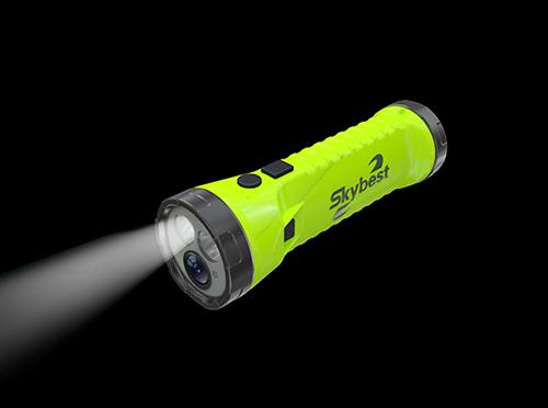SKYBEST EX 1080P Flashlight Camera SKY-P3