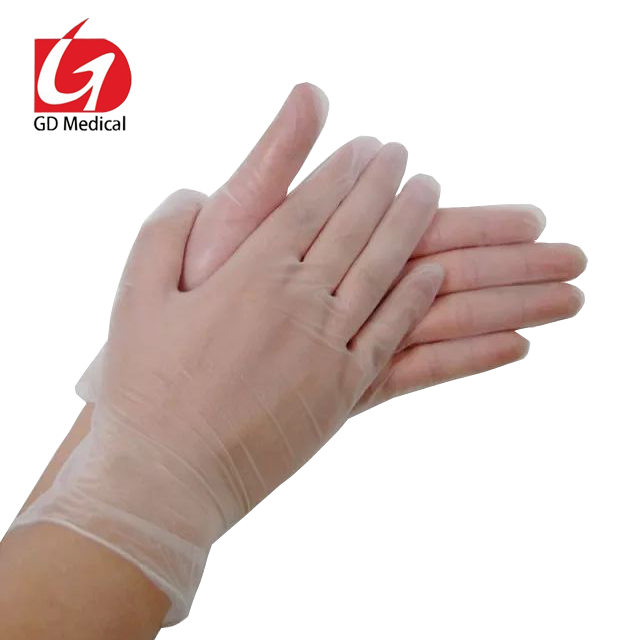 Disposable PVC gloves