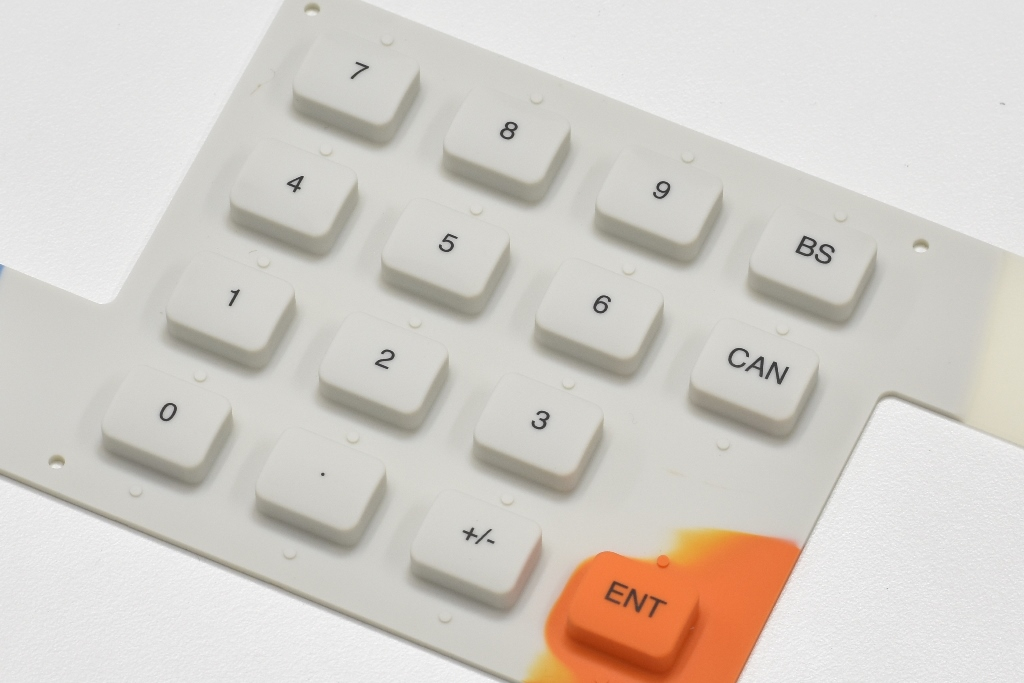 Rubber Key Type Membrane Switches