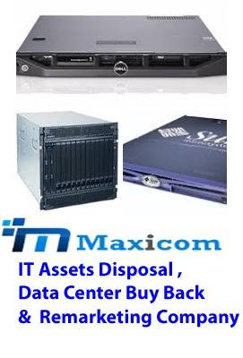 Maxicom Buyback Used HP & Dell Servers & Storages