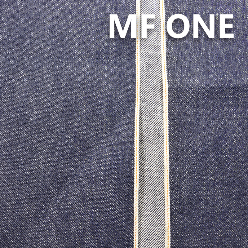 "MF ONE 100% Cotton Selvedge Raw Denim Twill Dark Bllue 33/34"" 15.05OZ"