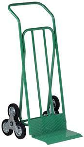 Stair-climbing trolley - 6 wheels