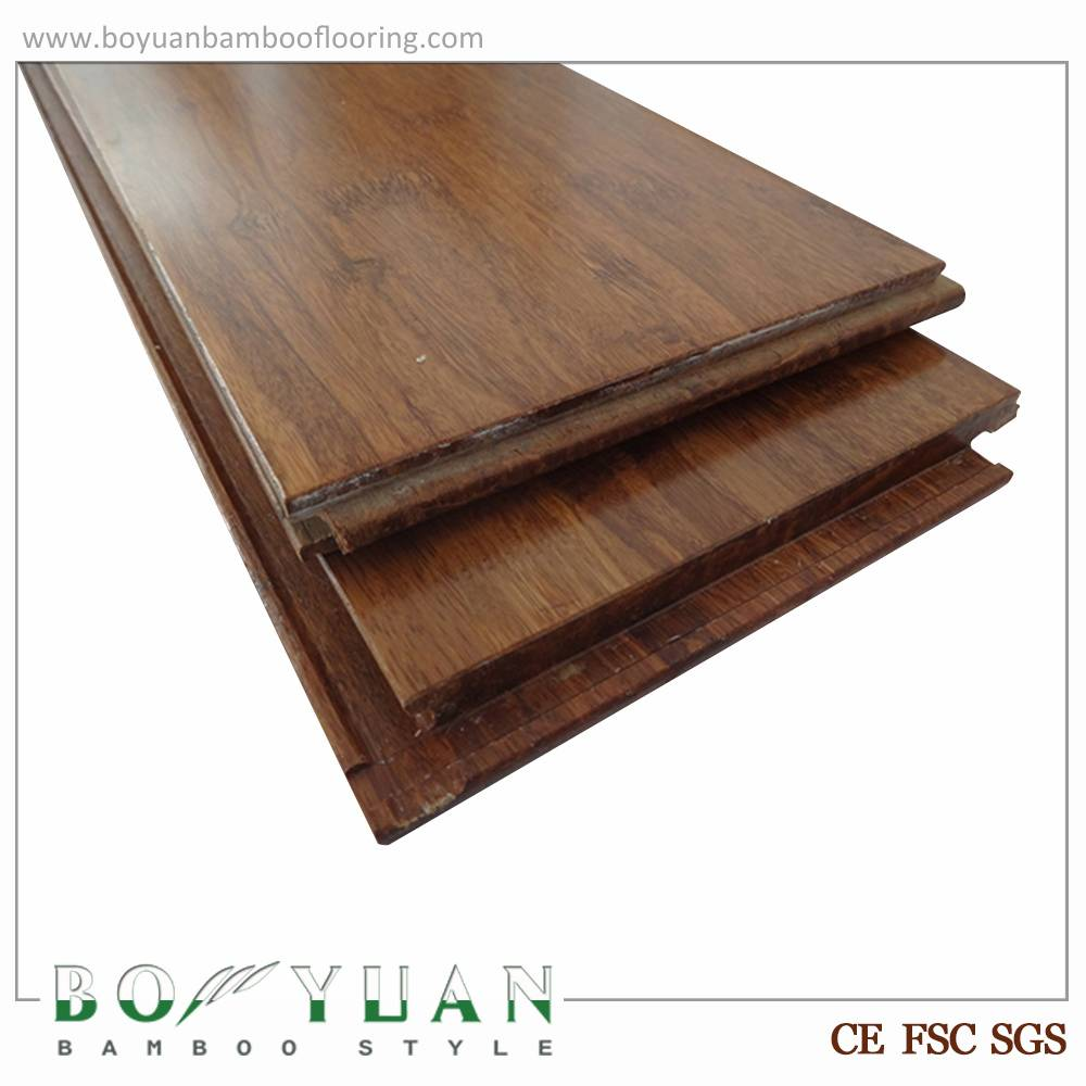 BY carbonized environment friendly strand woven bamboo flooring