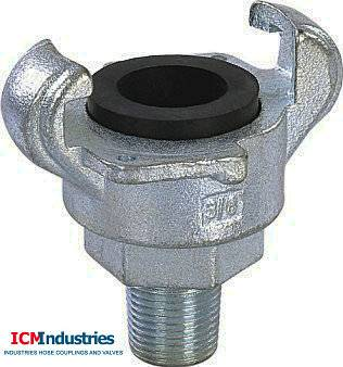 Type B claw coupling (Chicago coupling)