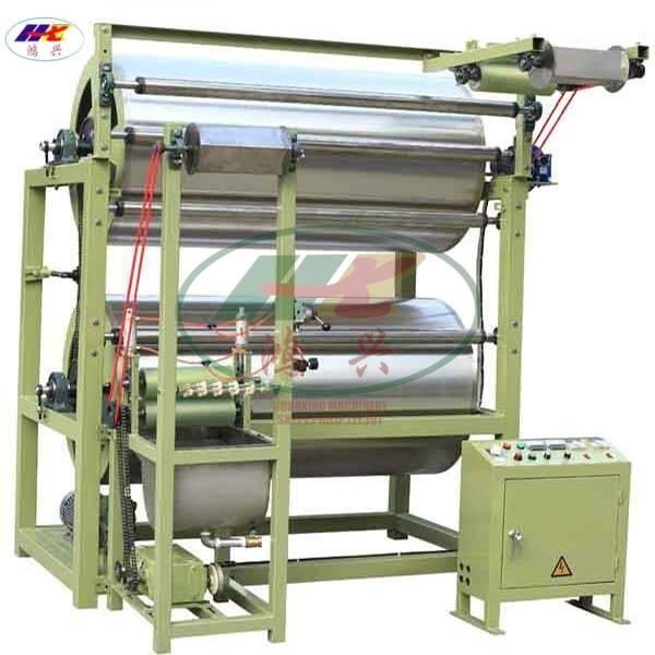 narrow fabric starching and finishing machine