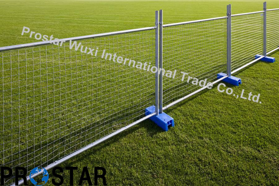 Multi-Purpose Temporary Fence Panel with Safety Orange Feet