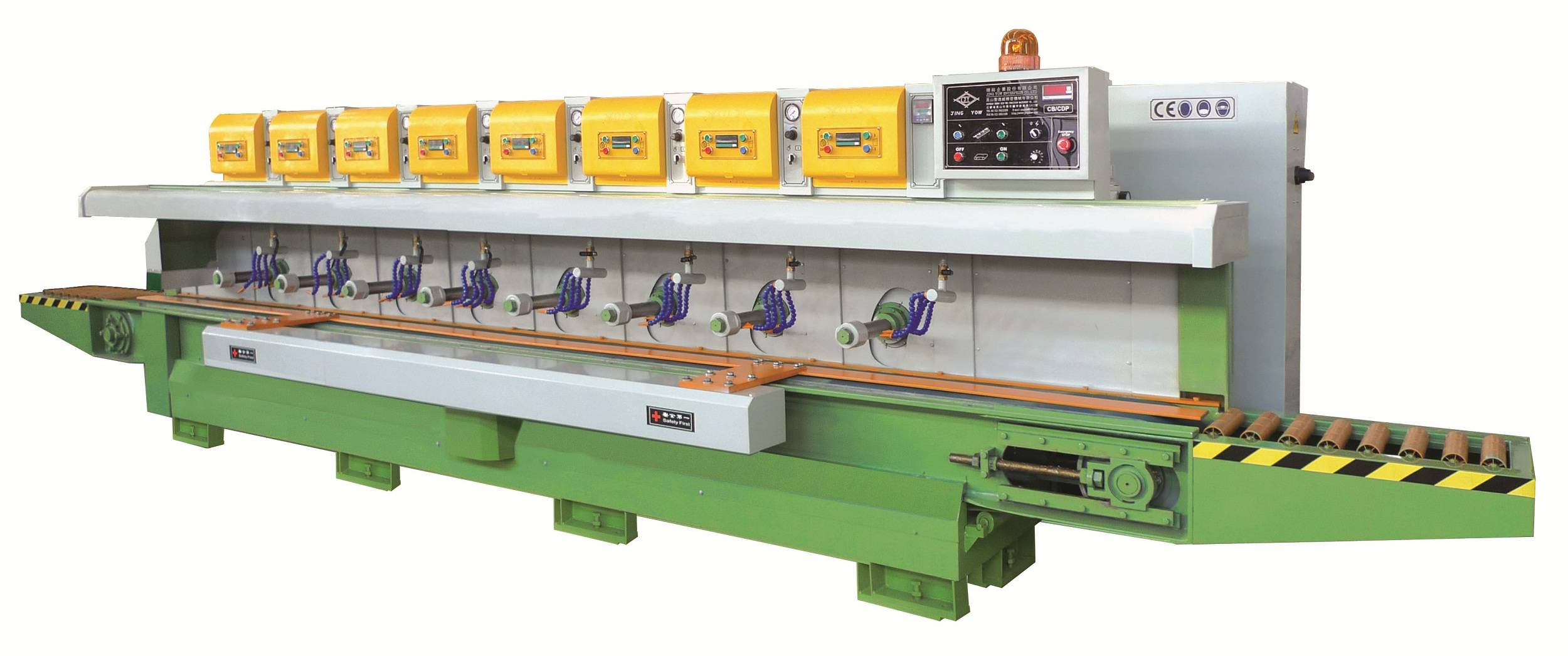 8 Heads Line Processing Machine(Polishing) CB/CDPM-8