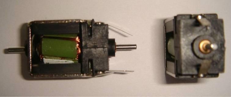 5 polor motors for model train ho scale/n scale