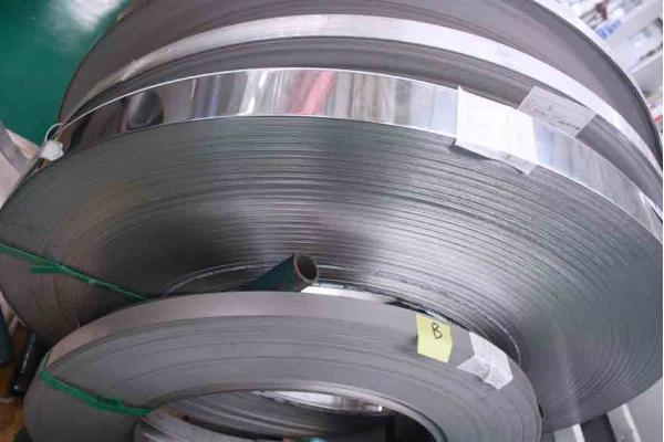 SPCC  hot dipped galvanized steel strip