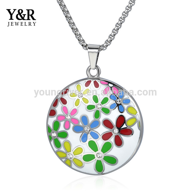 Pretty Charm Classic Pendant Necklace