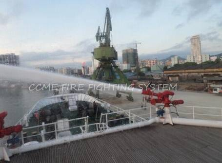 Ship automatic Fire Fighting System