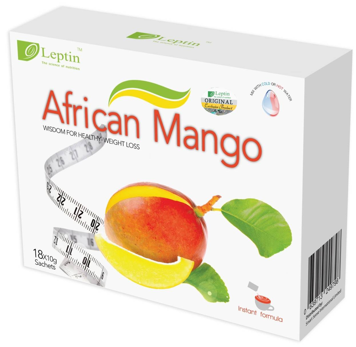 Leptin African Mango Tea Exclusive New Product Free Shipping