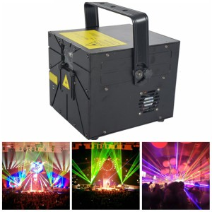 RGB3000 Animation Cartoon Laser Light