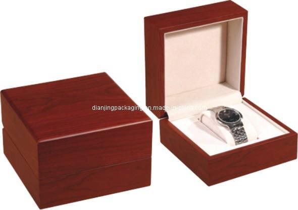 Wooden watch box winder jewelry box gift box