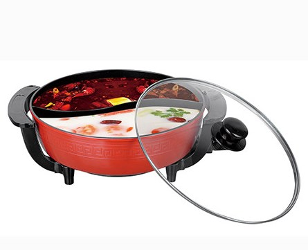 Chinese Two Tastes Electric Stewed Hot Pot (SX-32A)