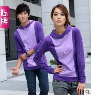 Couple long sleeve T Shirt 2011 new arrival autumn clothing Corea L311